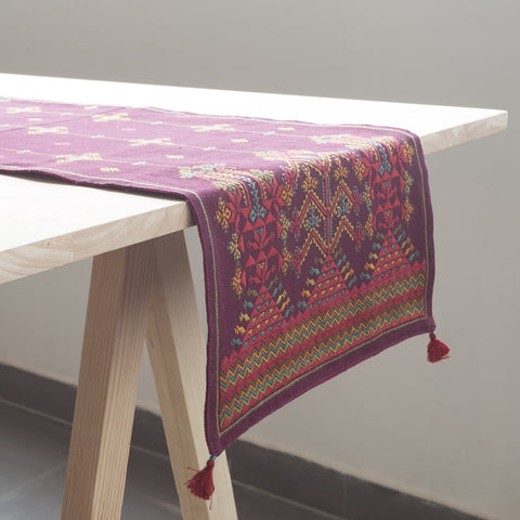 Rabari Emb - Table Runner - Eyaas