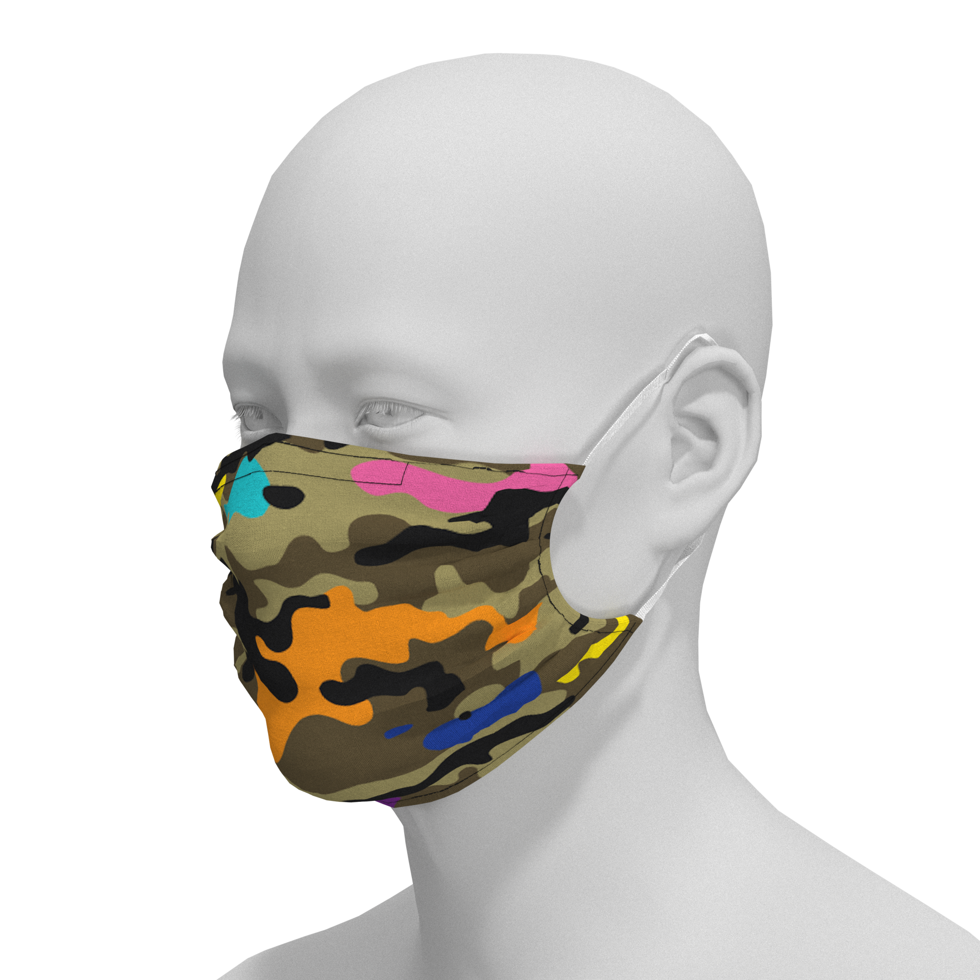 Camo + Color Mask