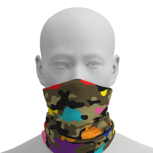 Open image in slideshow, Camo + Color Gaiter