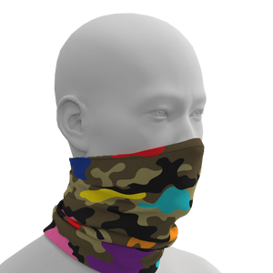 Camo + Color Gaiter