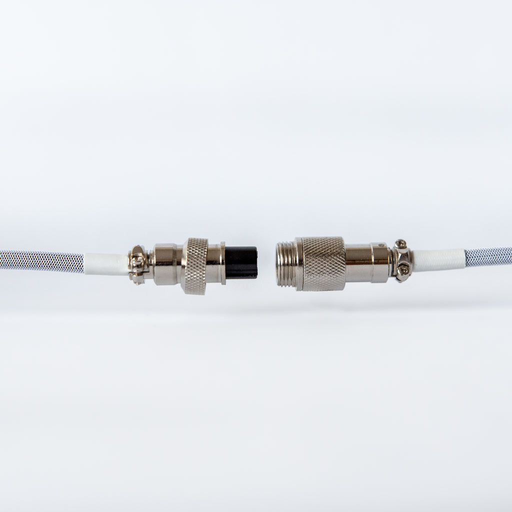 mechanical keyboard cable with aviator connector