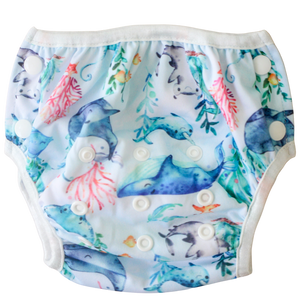 Boho Babes - Whale of a Time - 3-14kgs - Green Lily