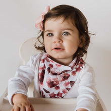 Load image into Gallery viewer, Fluer l Dribble Bandana Bib l Snuggle Hunny Kids - Green Lily