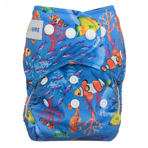 Bare Cub AI2 - Clownfish Reef - Green Lily