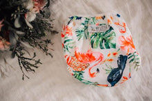 Load image into Gallery viewer, My Little Gumnut - TROPICAL OASIS - swimming nappy (3-18months)