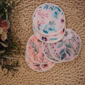 REUSABLE BREAST PADS 3 PAIRS (ASSORTED PATTERNS) - My Little Gumnut