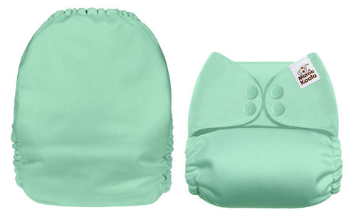 Mama Koala - Solid Mint - Green Lily