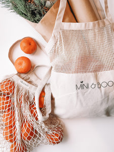 Full Mesh Tote Bag Pack - Mini & Boo