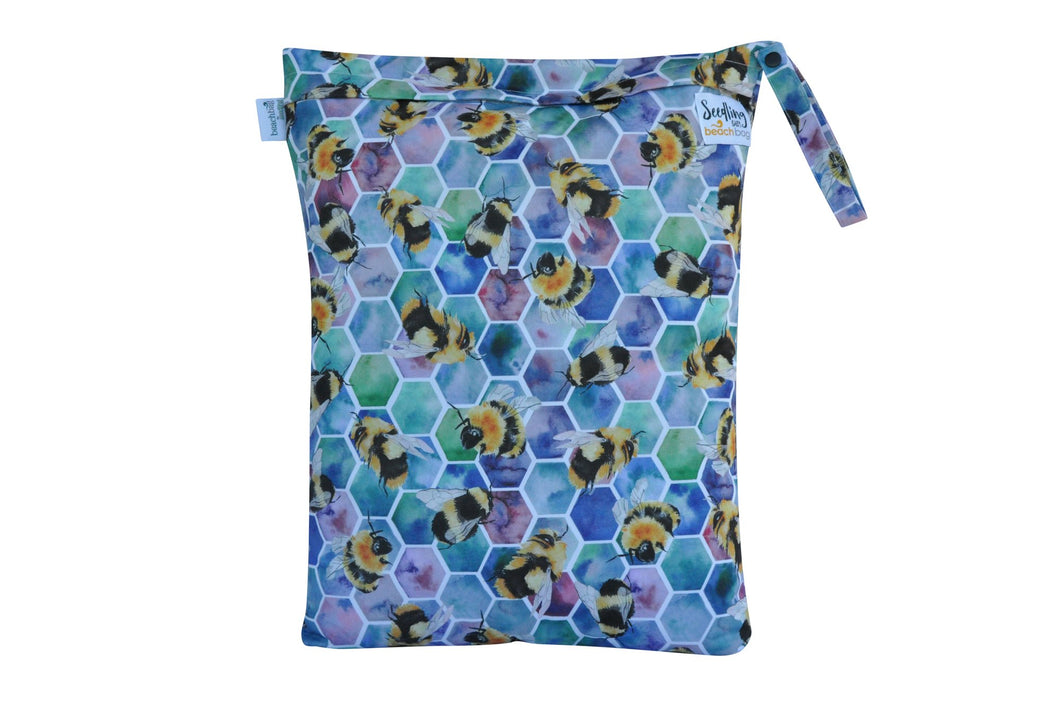 BEACH BAG Reusable Wet Bag - Beehive