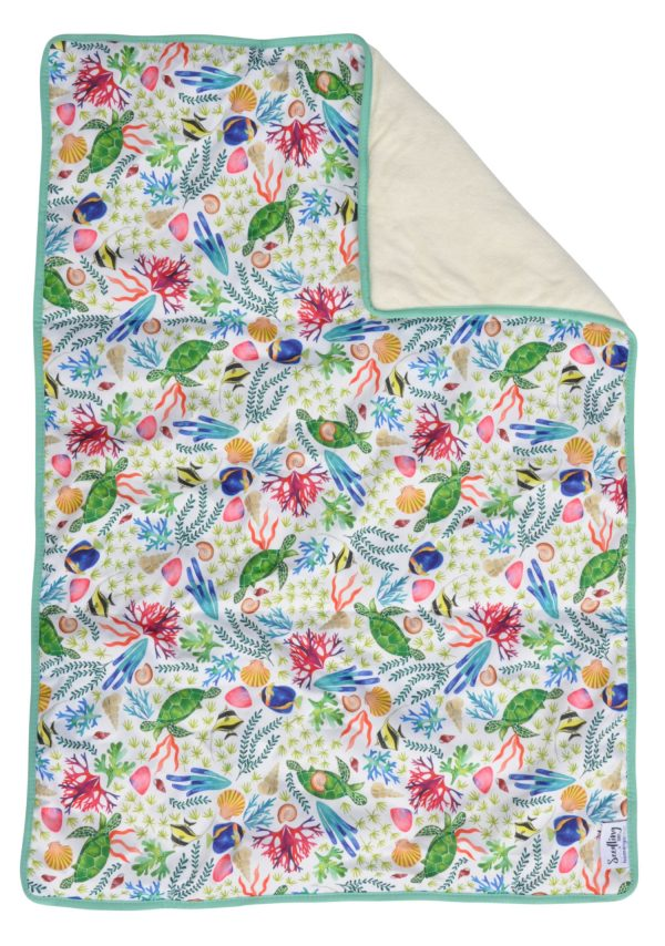 Seedling Baby - Home + Go Mat - Surf Reef - Green Lily