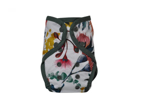 Seedling Baby - Native Gum - Paddle Pants Swim Nappy (birth to 16kgs) - Green Lily