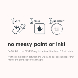 Inkless Print Kit - Baby Ink - Green Lily