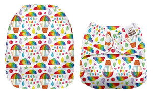 Pre-order Mama Koala -  Hot Air Balloons (due Dec) - Green Lily