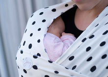 Load image into Gallery viewer, Louie Baby Wrap Carrier - Green Lily