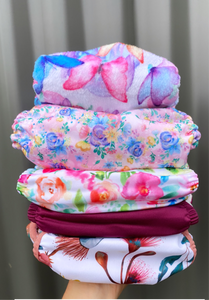 Mixed Brand Cloth Nappy Trial Pack - Green Lily