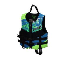 Load image into Gallery viewer, Jobe Life Jacket F2 (4-6) - Green Lily