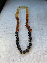 Load image into Gallery viewer, Rainbow Amber Infant Necklace