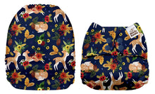Load image into Gallery viewer, Pre-order Mama Koala -  Navy Bambi (due Dec) - Green Lily