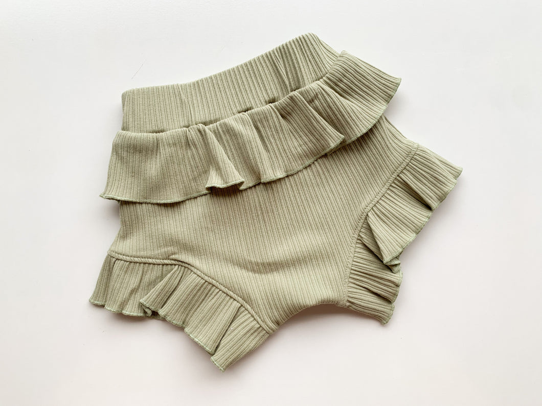 Alba Bloomies - Olive - Green Lily
