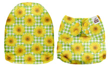 Load image into Gallery viewer, PREORDER - Mama Koala - Sunflower Check MINKY (Due Feb 2021)