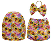 Load image into Gallery viewer, PREORDER - MAMA KOALA - Sunflowers MINKY (Due Feb 2021) - Green Lily