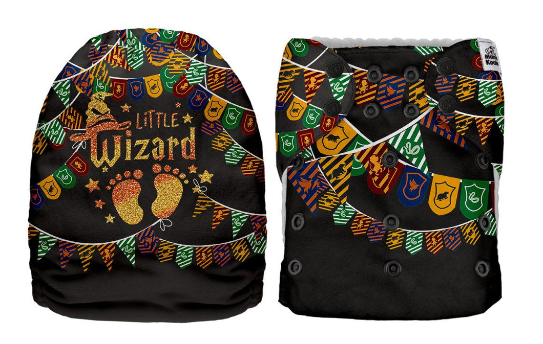 PREORDER - Mama Koala - Little Wizard MINKY (Due april 2021) - Green Lily