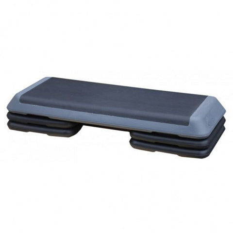 COMMERCIAL AEROBIC STEP BOX WITH RISERS