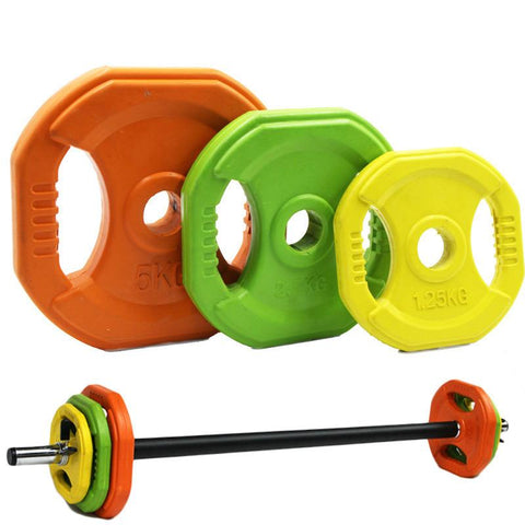Pump Studio Barbell Weights Set 20kg