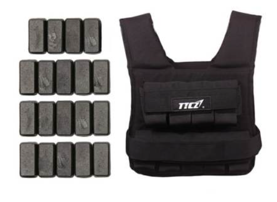WEIGHT VEST - 20kg ADJUSTABLE