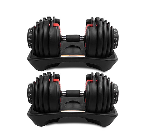 ADJUSTABLE DUMBBELL SETS