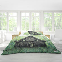 Load image into Gallery viewer, Sloth Nation Queen Duvet Cover Set