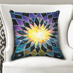 "Sunrise Torus Throw Pillow Case 20""x20"""
