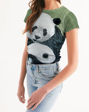 Load image into Gallery viewer, Morphed Panda Women's Tee