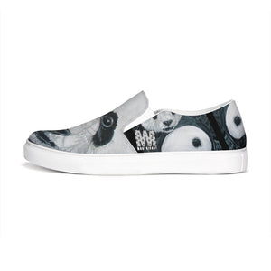 Morphed Panda Slip-On Canvas Shoe