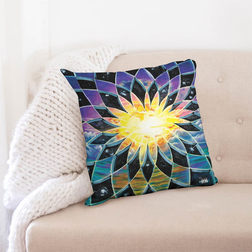 Sunrise Torus Throw Pillow Case 20