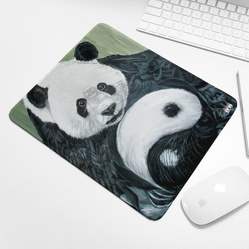 Morphed Panda Mouse Pad