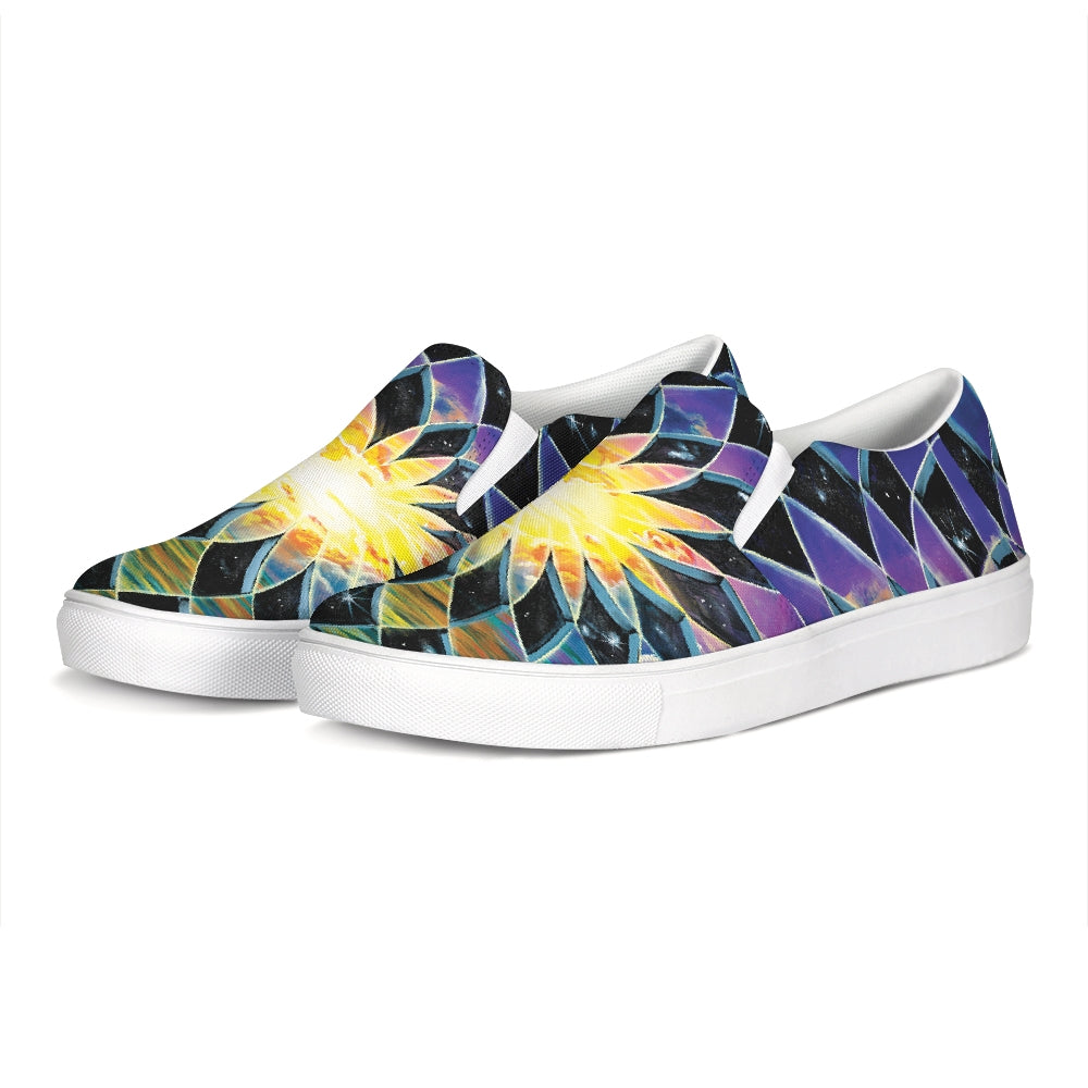 Sunrise Torus Slip-On Canvas Shoe