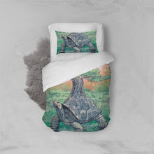 Load image into Gallery viewer, Bonsai Tortoise Twin Duvet Cover Set