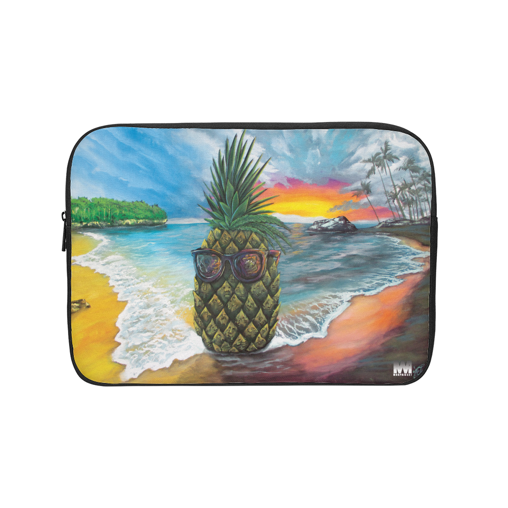 Pineapple Daze Laptop Sleeve
