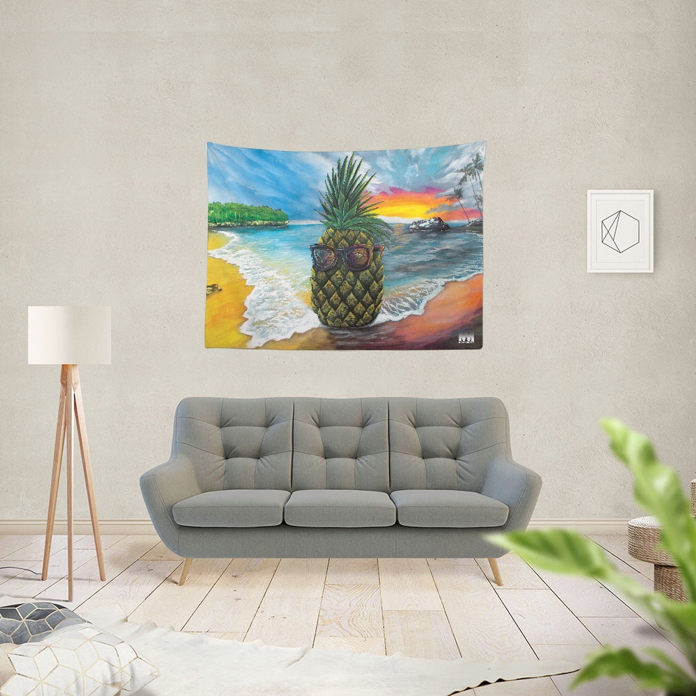 Pineapple Daze Tapestry 80