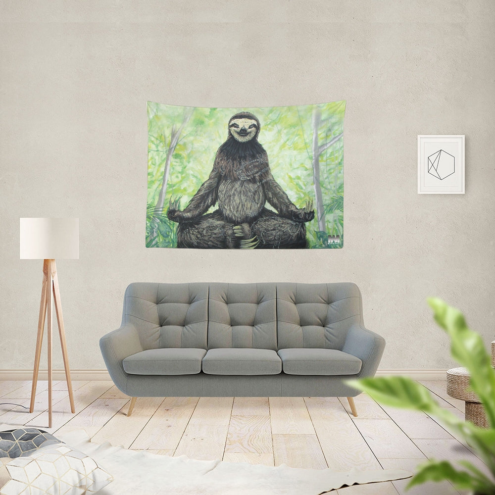 Sloth Nation Tapestry 80