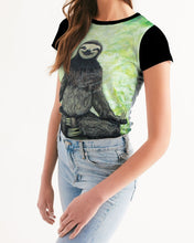 Load image into Gallery viewer, Sloth Nation Women's Tee