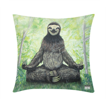 "Load image into Gallery viewer, Sloth Nation Throw Pillow Case 20""x20"""