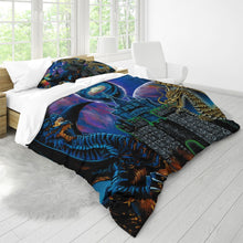 Load image into Gallery viewer, Kosmic Dragon Bass Kingdom King Duvet Cover Set