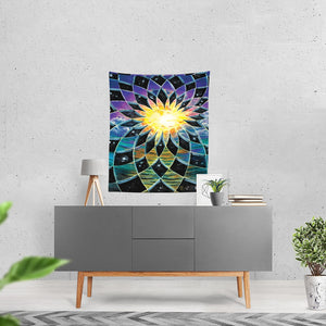 "Sunrise Torus Tapestry 51""x60"""