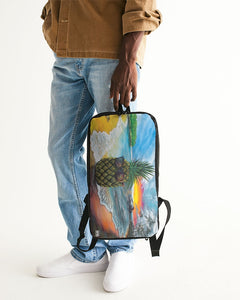 Pineapple Daze Slim Tech Backpack