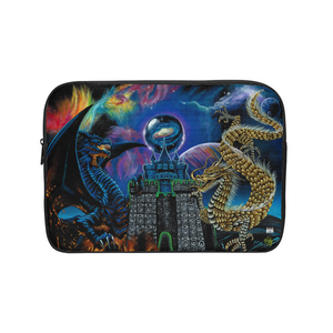 Kosmic Dragon Bass Kingdom Laptop Sleeve