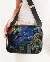 Load image into Gallery viewer, Kosmic Dragon Bass Kingdom Crossbody Bag
