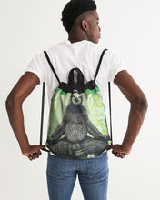 Load image into Gallery viewer, Sloth Nation Canvas Drawstring Bag