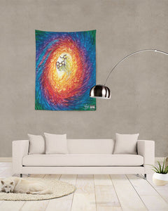 "Lucid Sentient Dream 60 x 80 tapestry Tapestry 60""x80"""
